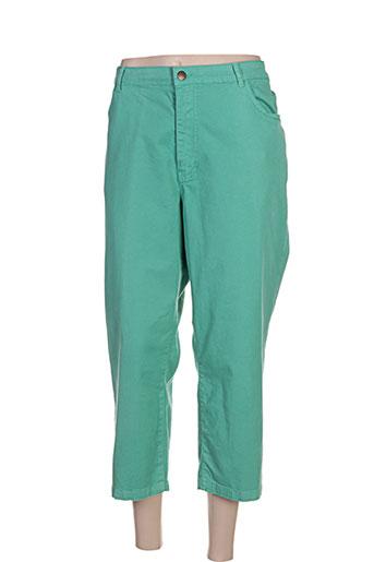 jean gabriel pantacourts femme de couleur vert