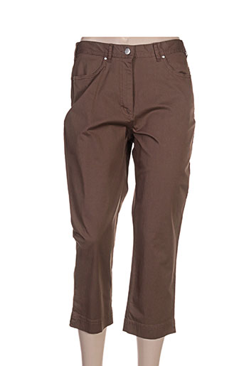 gerke my pants pantacourts femme de couleur marron