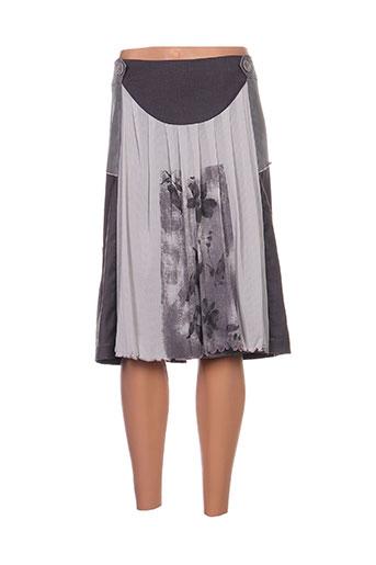 enjoy jupes femme de couleur gris