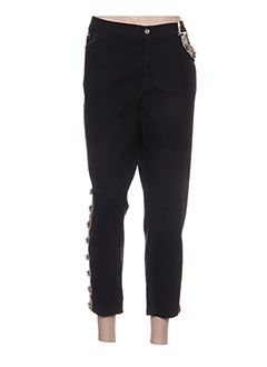 Pantalon 7/8 noir AQUAJEANS pour femme