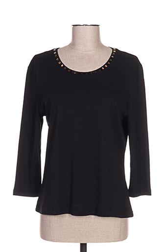oscar b t-shirts femme de couleur noir