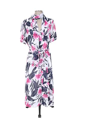 hauber robes femme de couleur rose