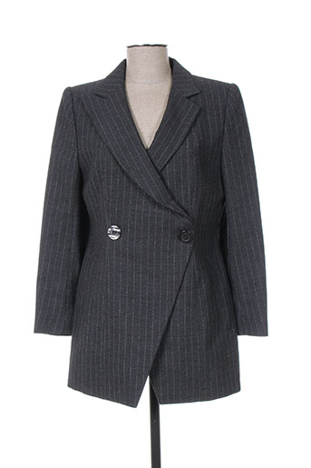 m daquin vestes femme de couleur gris