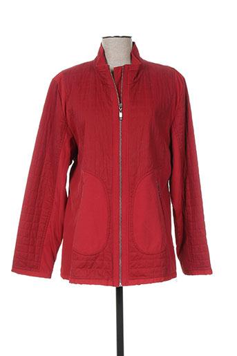creenstone vestes femme de couleur rouge