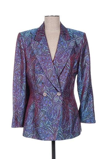 Veste casual bleu FRANK USHER pour femme