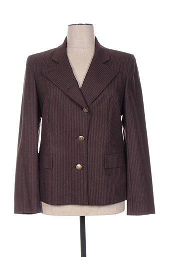 Veste casual marron CONSTANTIN pour femme