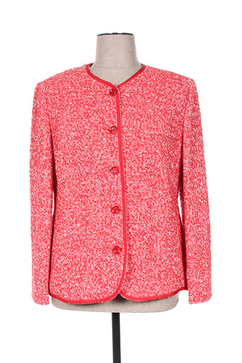 Veste casual rouge HAUBER pour femme