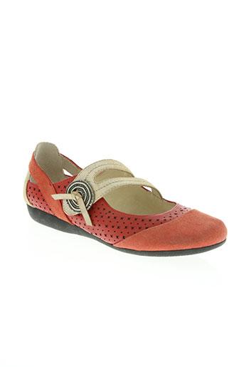 fugitive by francesco rossi chaussures femme de couleur rouge