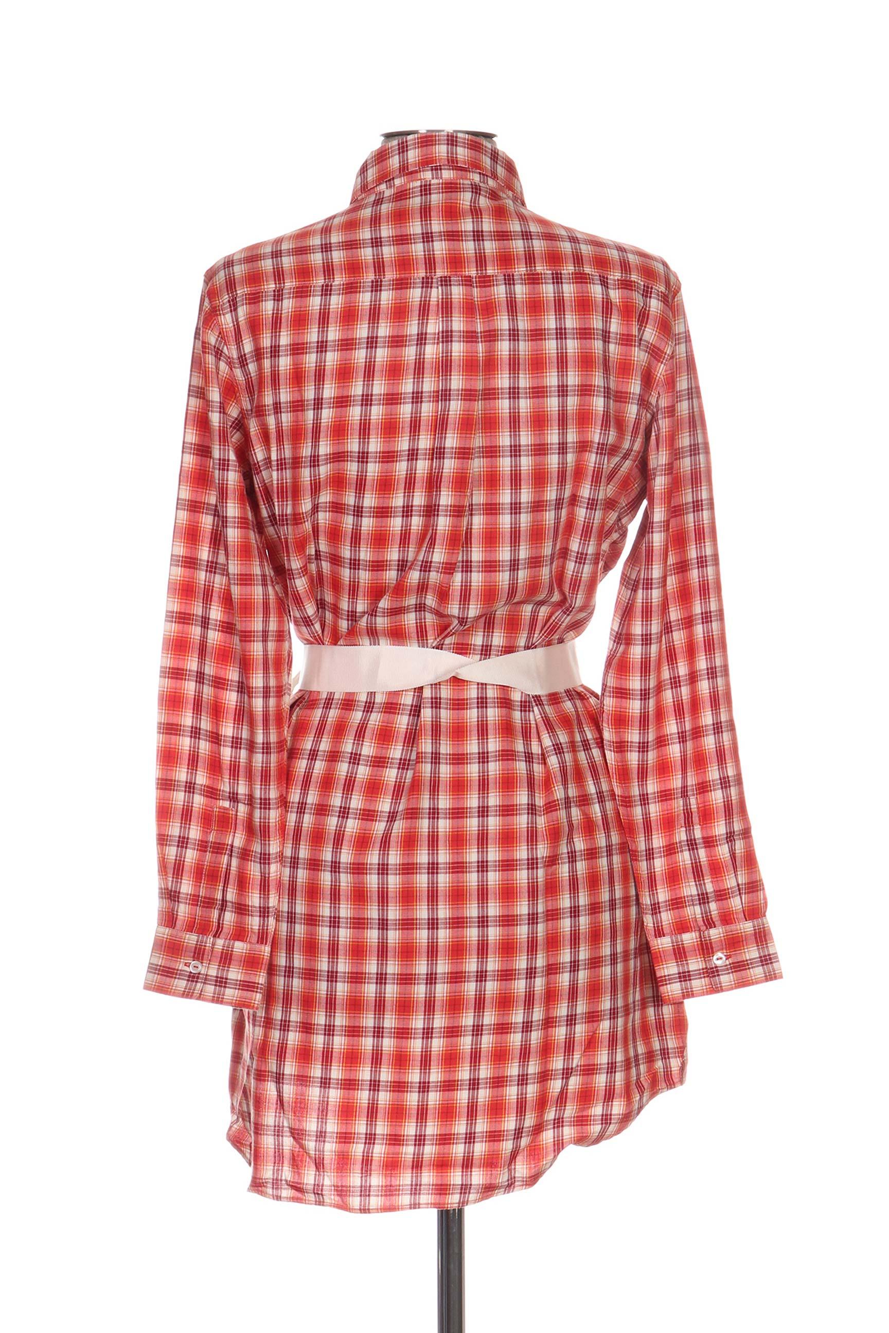 Petit Bateau Robes Courtes Femme De Couleur Orange En Soldes Pas Cher 1126836-orange