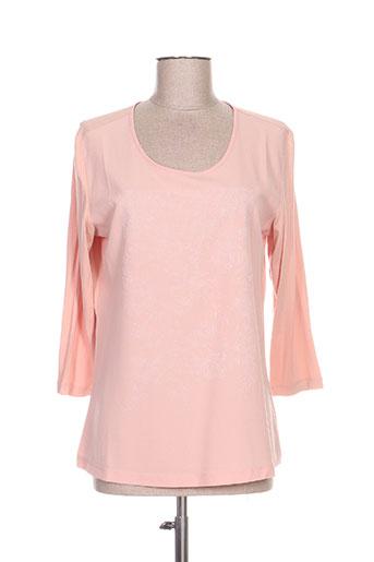 lebek chemises femme de couleur rose