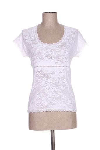 suggest chemises femme de couleur blanc