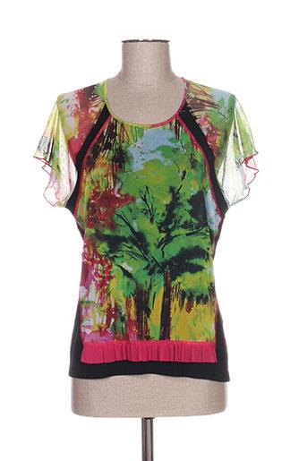 rodam chemises femme de couleur vert