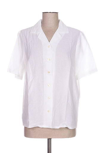 impulsion chemises femme de couleur blanc
