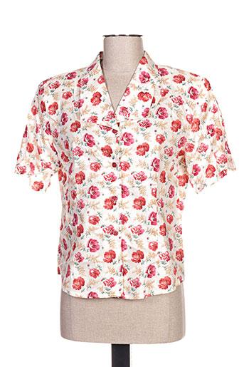 jean christophe.g chemises femme de couleur rouge
