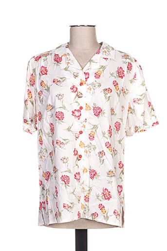 jean christophe.g chemises femme de couleur blanc