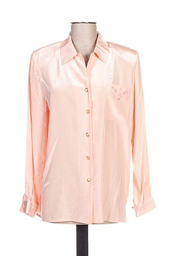 jean christophe.g chemises femme de couleur orange