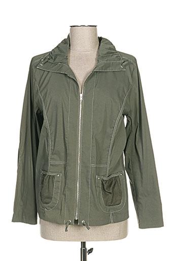 telmail vestes femme de couleur vert