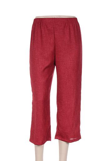 griffon pantacourts femme de couleur rouge