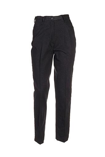nolwenn pantalons femme de couleur gris