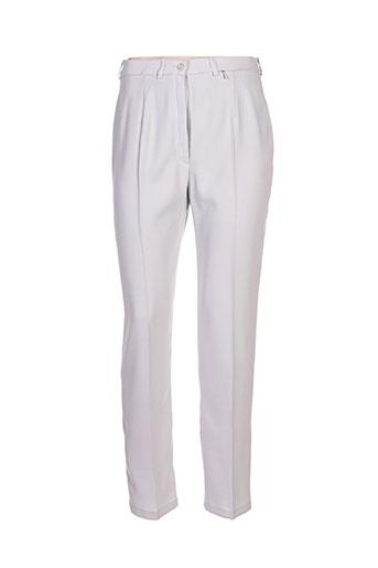 Pantalon chic gris CHRISTINE LAURE pour femme