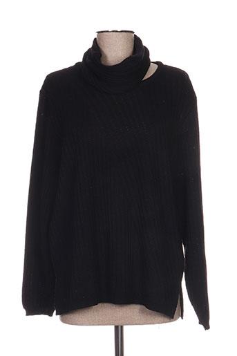 janine pauporté pulls femme de couleur noir