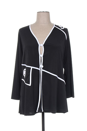 fluide paris vestes femme de couleur noir