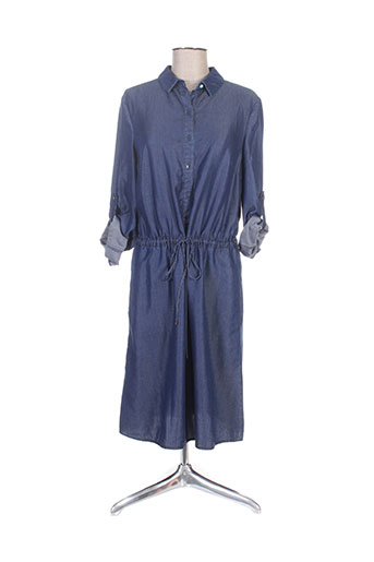 hugo boss robes femme de couleur bleu