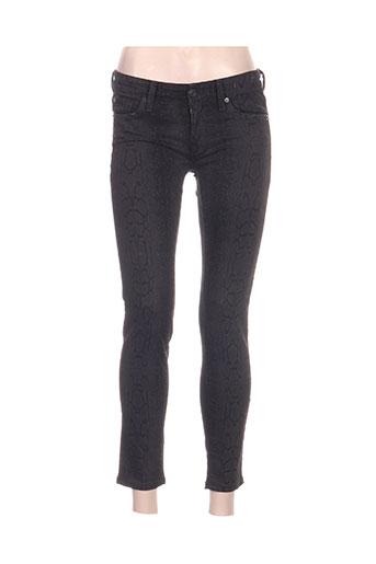 ralph lauren pantalons femme de couleur noir