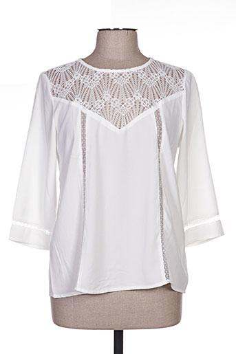 kilky chemises femme de couleur blanc