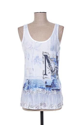 missy t-shirts femme de couleur bleu