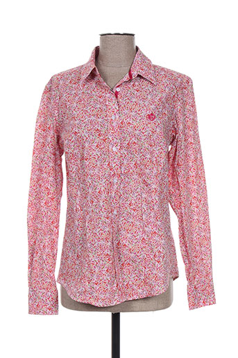 carla kops chemises femme de couleur rose