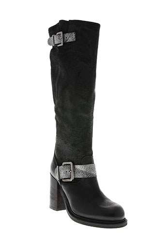 intrigo chaussures femme de couleur noir