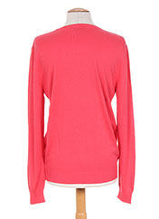 Pull col V rose CAMBE pour homme seconde vue