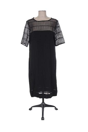 Robe mi-longue noir CONCEPT K pour femme