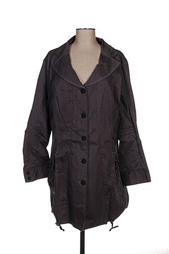 l33 vestes femme de couleur gris