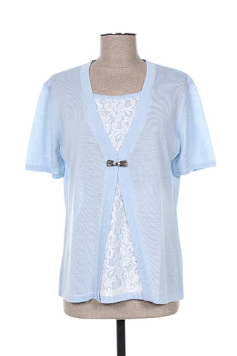 i.odena chemises femme de couleur bleu