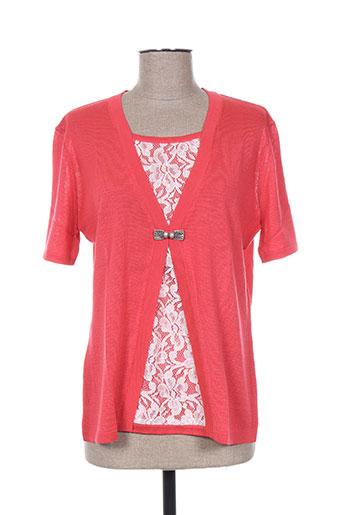 i.odena chemises femme de couleur rouge