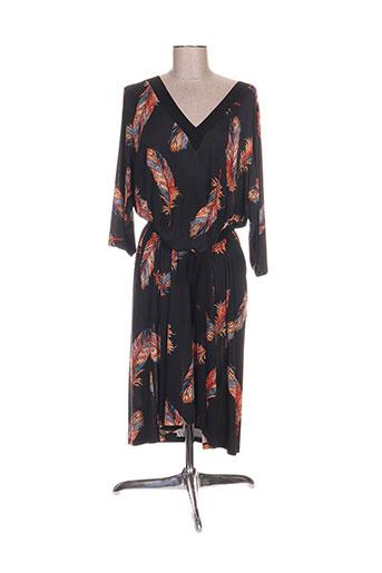 deomino robes femme de couleur noir