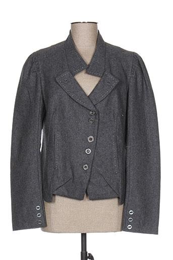 iconoclast vestes femme de couleur gris
