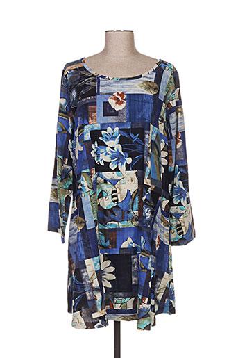 eylex robes femme de couleur bleu