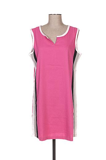 hhg robes femme de couleur rose