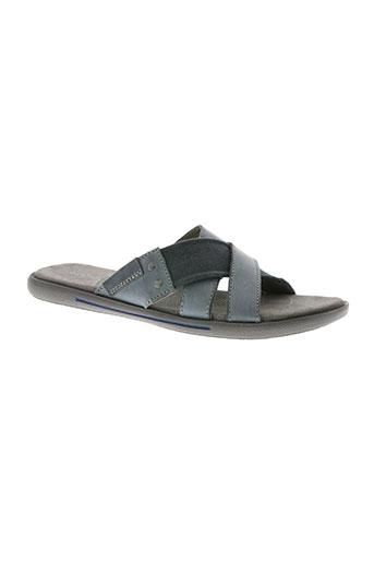 stressless chaussures homme de couleur bleu