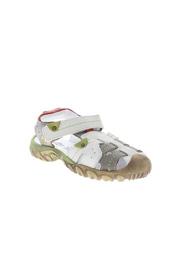 bellamy chaussures garçon de couleur blanc
