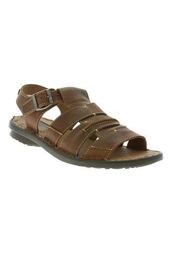 swedi chaussures homme de couleur marron
