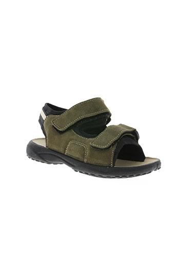 piumino chaussures garçon de couleur vert