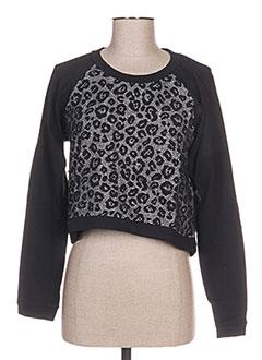 Sweat-shirt noir CACHE CACHE pour femme