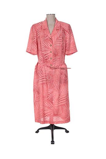 francoise robes femme de couleur rose
