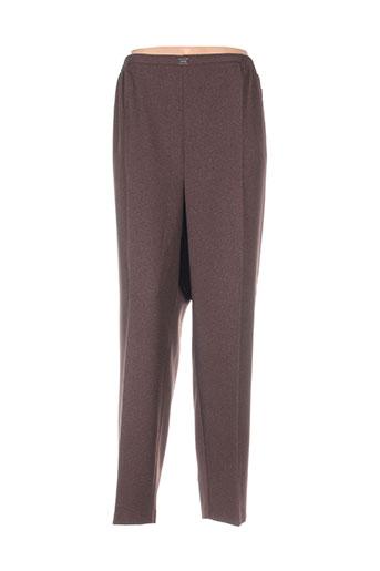 Pantalon chic marron CPH pour femme