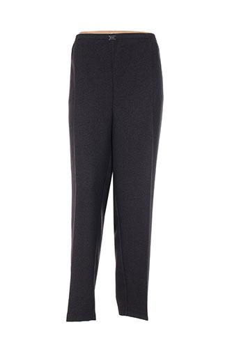cph pantalons femme de couleur noir