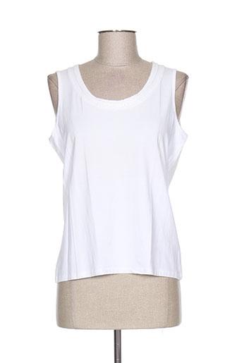 mayerline t-shirts femme de couleur blanc